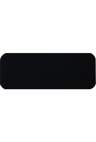 Stepmat Siyah Velür Kaymaz Tabanlı Merdiven Basamak Paspası / Halısı