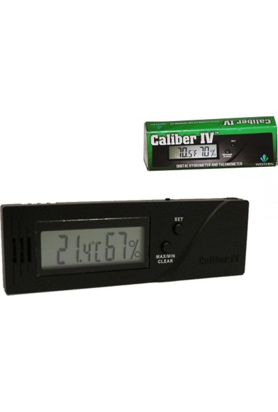 Cigar Oasis Caliber4 Dijital Nem Ölçer Higrometre
