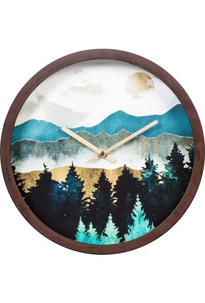 Mudo Concept Pıne Tree Duvar Saati 30 cm