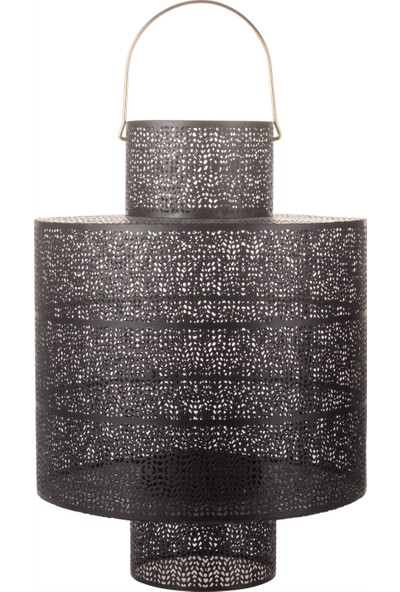 Mudo Concept Telkari Silindir Fener 30 x 30 x 41,5 cm