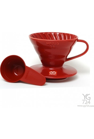 Hario V60 Kırmızı Dripper 01