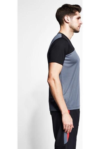 Lescon Füme Siyah Erkek Kısa Kollu T-Shirt 21B-1034