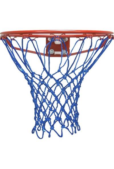 Özbek Basketbol Filesi 4mm Polys. Sax Mavi - 2 Adet (Basketbol Pota Ağı)
