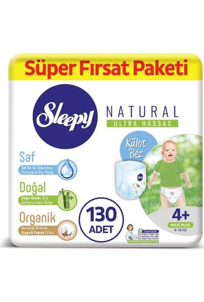 Sleepy Natural Külot Bez 4+ Numara Ma x i Plus Süper Fırsat Paketi 9 - 16 kg
