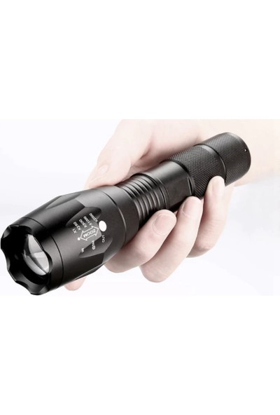Litwod Xml-L2 Su Geçirmez 5 Modlu Teleskobik Focus LED El Feneri
