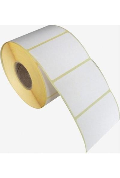 Zebra Barkod Etiket Kuşe Etiket 25 x 65 1000LI Sarım