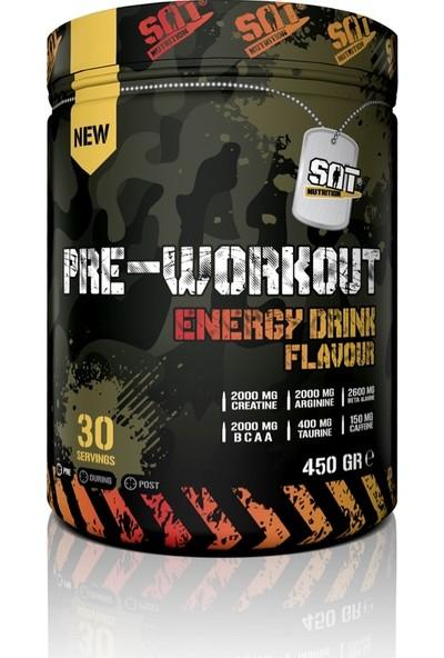Sat Nutrition Pre-Workout 450 gr Enerji Içeceği Aromalı