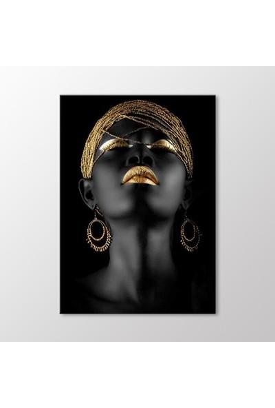 Arty Tablo Afrikalı Kadın Tablo