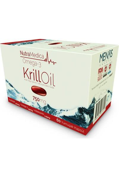 Nutramedica Krill Oil 750 Mg 60 Kapsül