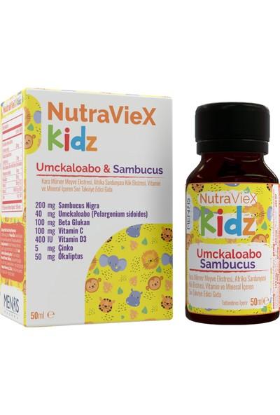 Mensis Nutraviex Kidz Umckaloabo-Sambucus Şurup