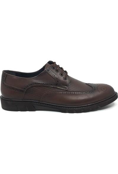 Öz Soylu Deri Erkek Yazlık Rahat Klasik Ayakkabı 45-47