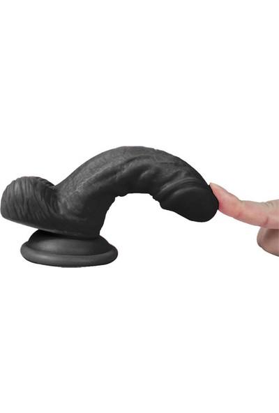 Lps Xs Spartacus Kalın Penis Et Dokusu Süper Realistik Penis 13 cm ve Playboy Masaj Yağı