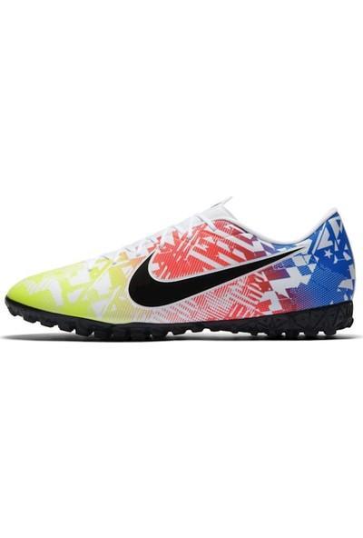 Nike Vapor 13 Academy Neymar Jr Tf Erkek Çok Renkli Halı Saha Ayakkabısı AT7995-104