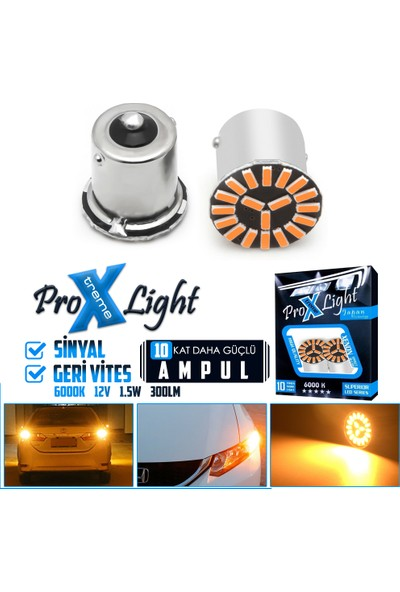 C9 P21W 1156 BA15S Beyaz Tek Duy Sinyal Geri Vites LED Ampul 19 Smd