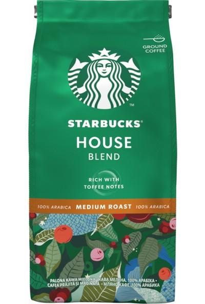 Starbucks House Blend Öğütülmüş Kahve 200G