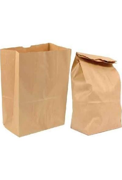 1001 Ambalaj Kese Kağıdı Fast Food Menu Servis Paket Torbası 18 x 8 x 29 100 'lü (0C0C)