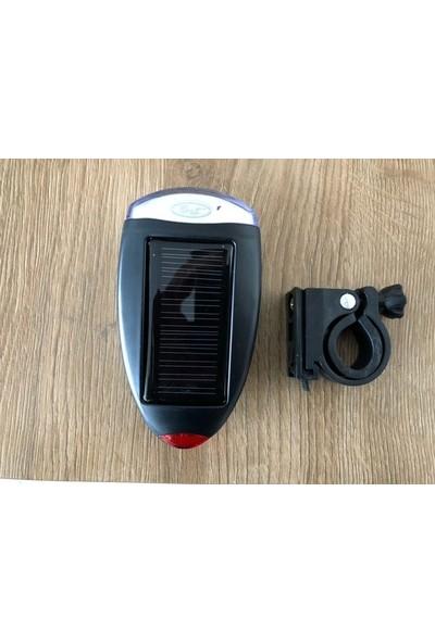 Rbk Bisiklet Solar Güneş Enerjili Ön Lamba LED Işık