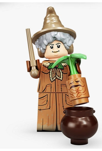 LEGO Harry Potter Minifigür Seri 2 - 71028 - 15 Professor Pomona Sprout