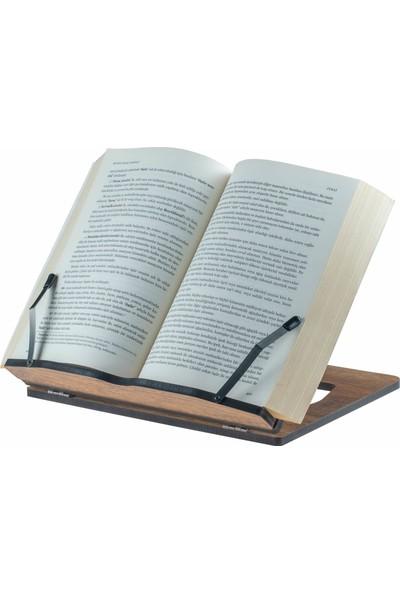 Vigo Wood Ahşap Kitap Okuma ve Tablet Standı