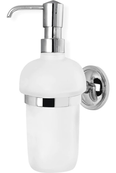 ÇELİK BANYO Bella Camlı Montajlı Sıvı Sabunluk BS10-013