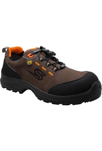Swolx X950 Suya Dayanıklı Nubuk Deri Kompozit Burun İş Ayakkabısı