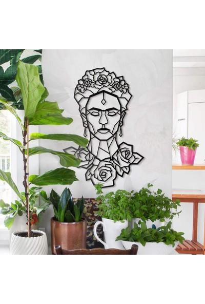 Nt Handmade Ahşap Frida Mdf Duvar Dekorasyonu
