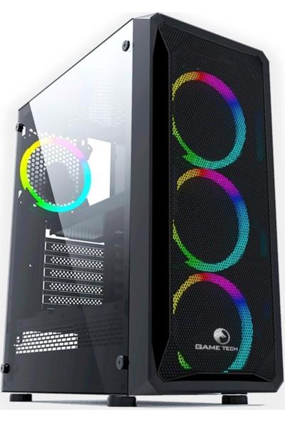 Gametech Velar Rgb 6x120 mm Fanlı Oyuncu Bilgisayar Kasası