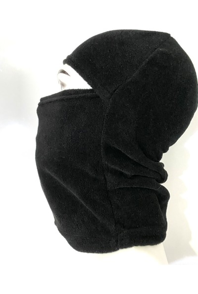 Allhunting Siyah Polar Kar Maskesi