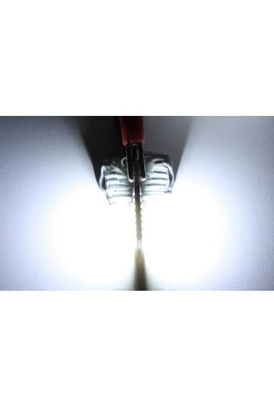 Sisa T10 LED 24 Ledli Metal Ultra Beyaz Park,plaka,tavan Ampülü 2 Adet