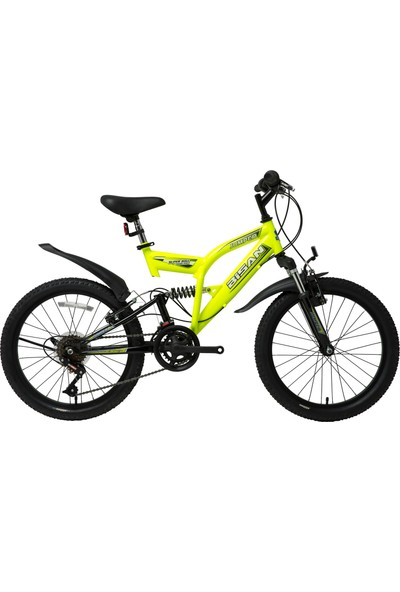 Bisan Kds 2700 Jumper Çift Amortisörlü 10 Vites 20 Jant Çocuk Bisikleti Yeni Model