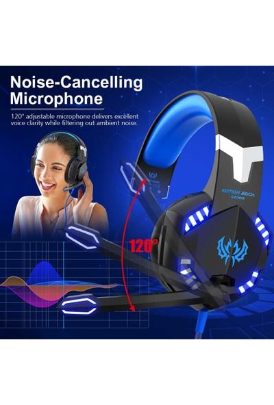 Kotion Each G2000 PS4 / PS5 Gaming Kulak Üstü Kulaklık (Yurt Dışından)