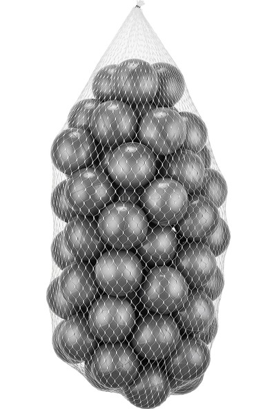 Wellgro Bubble Pop Pembe Kare Top Havuzu-Pembe/beyaz/şeffaf/gri