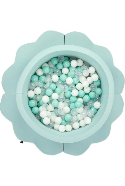 Wellgro Bubble Pop Bulut Matlı Top Havuzu-Mint