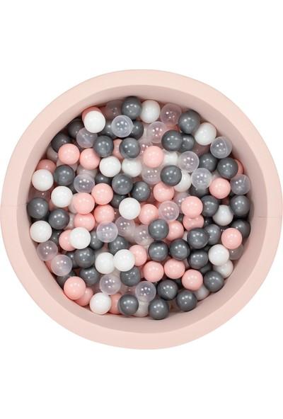 Wellgro Bubble Pops Pembe Top Havuzu - Beyaz/şeffaf/pembe/gri Toplar