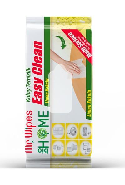 Mr Wıpes Easy Clean Temizleme Mendili Limon Kokulu 40 Adet