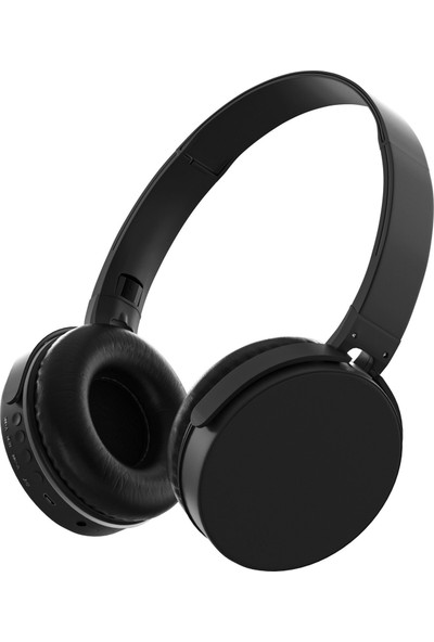 MF Product Acoustic 0235 Kablosuz Kulak Üstü Bluetooth Kulaklık Siyah