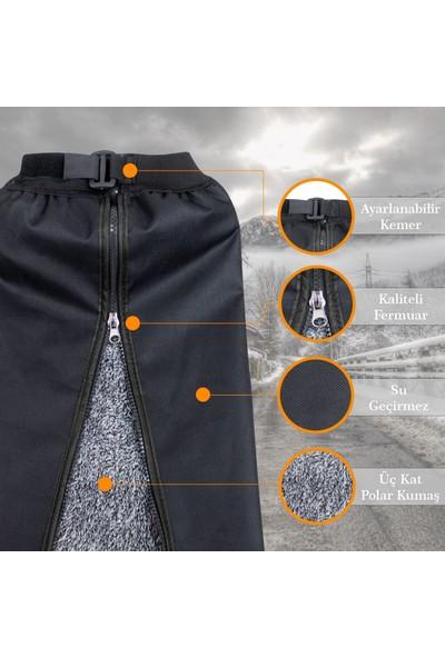 Ankaflex Motosiklet Rüzgar Yağmur Geçirmez Diz Koruma Dizlik Siperlik Örtüsü