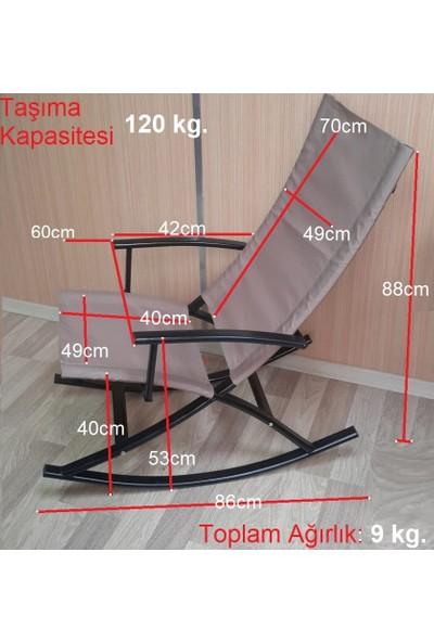 Depolife Sallanan Tv Koltuğu Sallanır Berjer Sandalye Yıkanabilir Fermuarlı Minderli Depolife