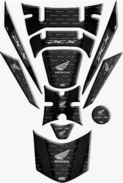 Honda Pcx 125 2018 Tank Pad Sticker Seti 11 Pcs-002