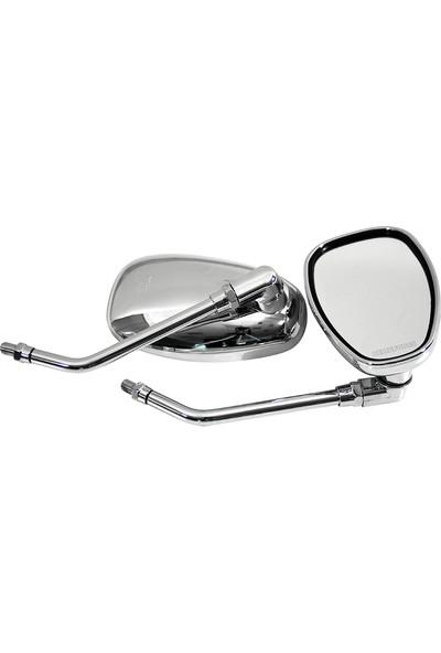 Modifiye Nikel Oval Ayna Takımı 8 Mm.