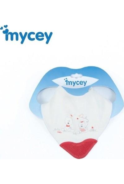 Mycey Diş Kaşıyıcılı Fular Önlük Köpek Aşkı