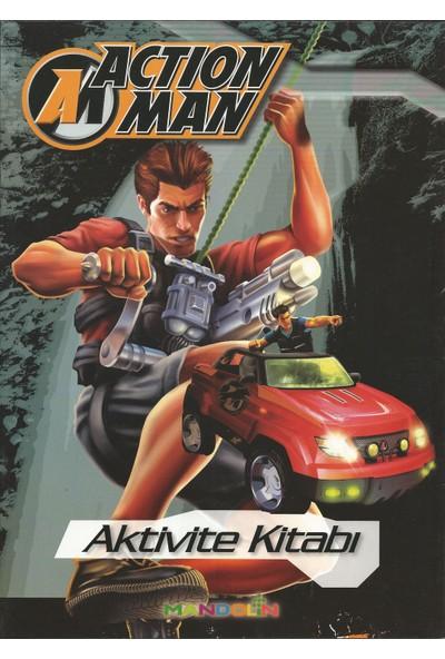 Action Man 6 Kitaplık Set : Çıkartma Aktivite Boyama