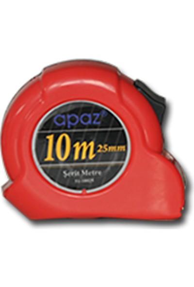 Apaz Şerit Metre Apaz 10 Metre 10X25MM