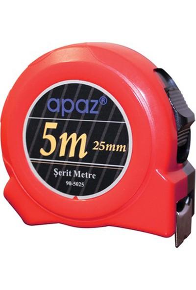 Apaz Şerit Metre Apaz 5 Metre 5X25MM