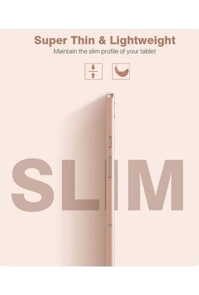 "Fibaks Samsung Galaxy Tab A7 10.4"" SM-T500 T507 Kılıf Şeffaf Süper Silikon"