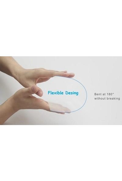 Fibaks Samsung Galaxy Tab S7 Plus T970 Ekran Koruyucu Nano Esnek Flexible 9h Micro Temperli Kırılmaz Cam