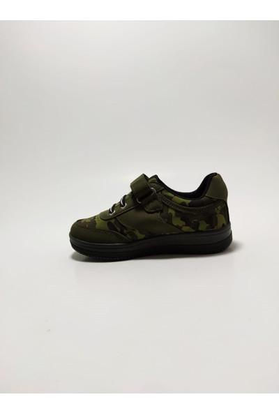 Scorx Kamuflaj Erkek Çocuk Spor Ayakkabı