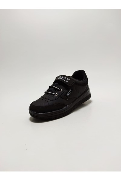 Scorx Siyah Erkek Çocuk Spor Ayakkabı