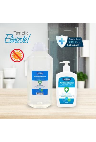 Deep Fresh Antibakteriyel Sıvı Sabun 2500 ml & 500 ml Avantaj Paketi