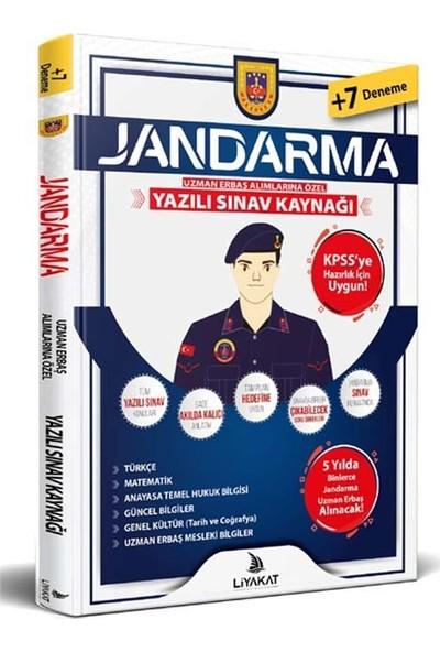 Liyakat Yayınları 2021 Jandarma Uzman Erbaş Yazılı Sınava Özel Hazırlık 2021